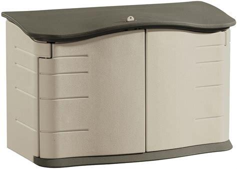 large horizontal storage shed by rubbermaid advanced box