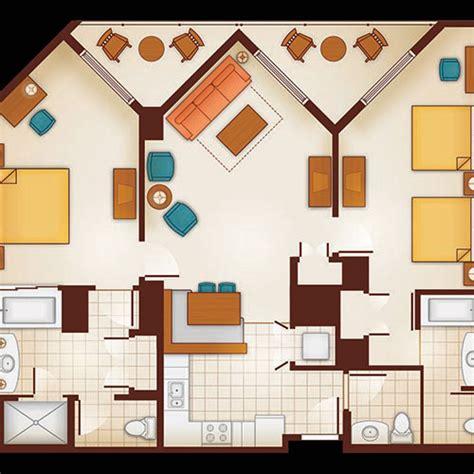aulani 1 bedroom villa floor plan meze
