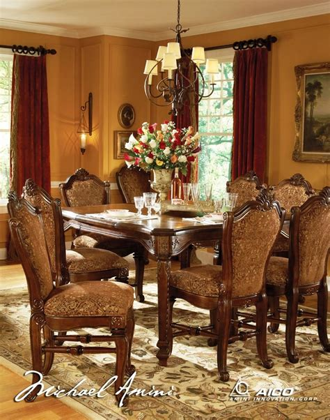 Aico Windsor Court Counter Height Dining Set 7000054