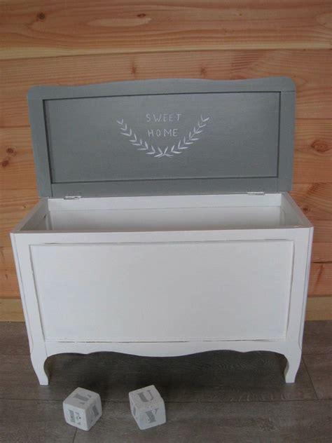 coffre 224 jouet blanc et gris commande photo de relook 233 s sur commande patines couleurs