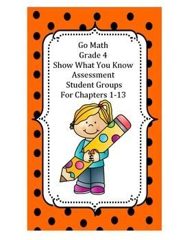 Go Math 4th Grade Chapter 2 Mid Chapter Checkpoint  Go Math Florida Grade 5 Chapter 2 First