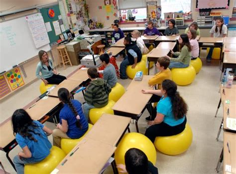 balls replace chairs in penn manor classroom news