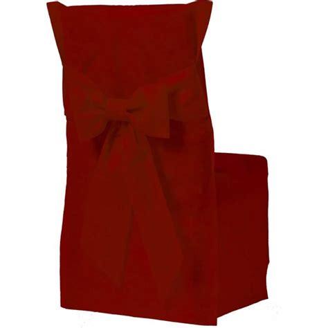 housse de chaise couleur bordeaux x6