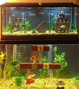 Coole Aquarium Deko : super mario bros fish aquarium might be coolest ever techeblog ~ Markanthonyermac.com Haus und Dekorationen