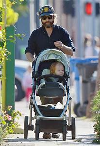 Zach Galifianakis shows off his bouncy baby boy for FIRST ...