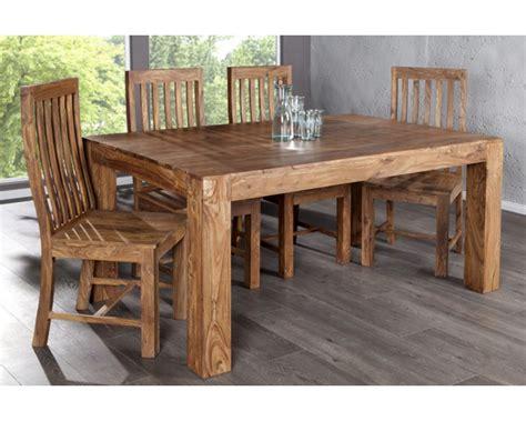 salle 224 manger en bois design betani bois massif bois palissandre 1 table 4 chaises