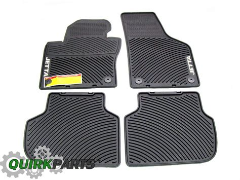 2011 2017 vw volkswagen jetta sedan floor mats set