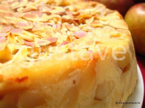 g 226 teau aux pommes et aux amandes la recette gustave