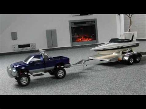 Traxxas Spartan Remote Control Boats For Sale by Rc Tamiya Ford F350 Mfu 02 With Selfmade Trailer And Rc