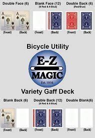 bicycle variety gaff deck toys