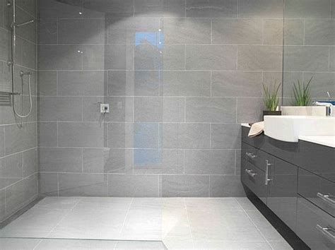 25 best ideas about grey bathroom tiles on