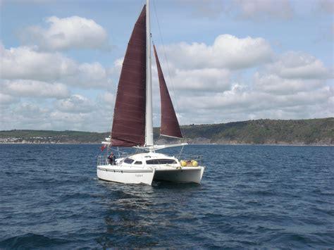 Catamaran Sailing Tuition by Cruising Catamaran Trainingcatamaran Training Multihull