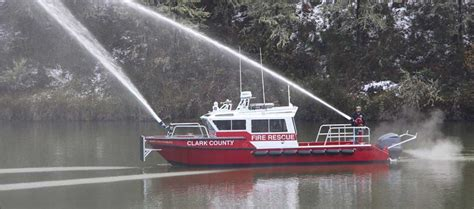 X Fire Boat by Fire Boat North River Boats