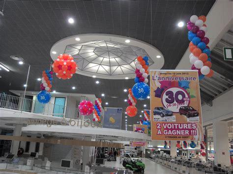 d 233 coration ballons anniversaire magasin hyper enseigne