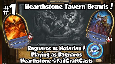 hearthstone tavern brawl 1 ragnaros vs nefarian june 2015