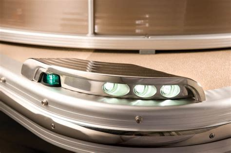 Led Docking Lights For Pontoon Boats by Bennington 2575 Qcw Quality Shows With These Led