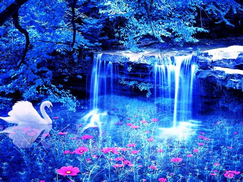 Magical Blue Wallpaper  Cynthiaselahblue (cynti19) Wallpaper (33211145) Fanpop