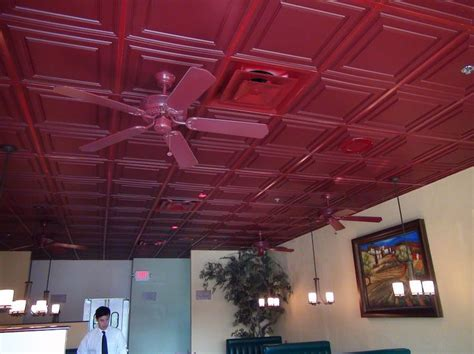 these stratford merlot ceilume ceiling tiles add so much character to this california italian