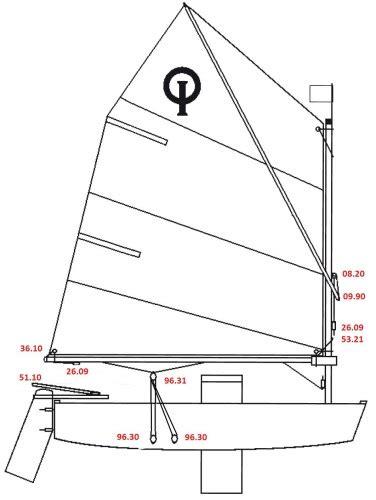 Optimist Zeilboot by Optimist