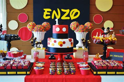 20 Awesome Mickey Mouse Birthday Party Ideas Birthday