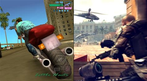 grand theft auto vice city and modern combat 4 zero hour now available update slashgear