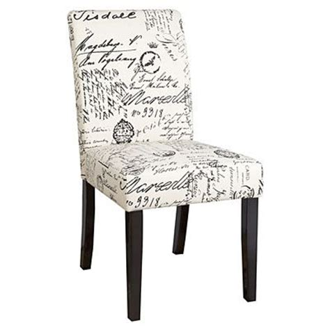 dining chair script fabric at big lots apartment