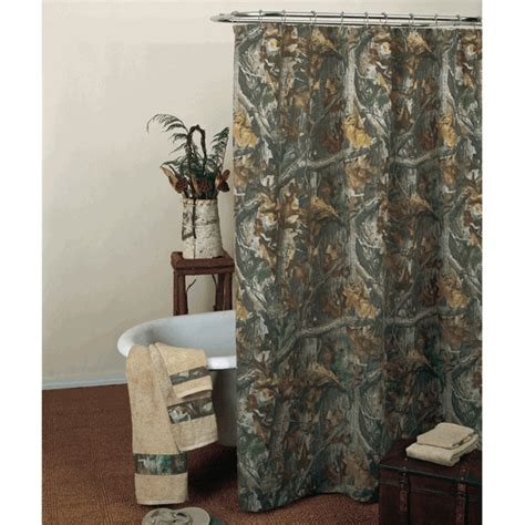camo bathroom decor realtree timber shower curtain camo trading