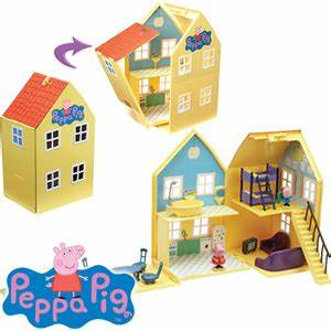 Buy Peppa Pig Deluxe Playhouse at Home Bargains