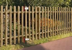 Kleiner Gartenzaun Holz : gartenzaun holz zaun senkrechtzaun kdi braun 250 x 80 cm bei ~ Whattoseeinmadrid.com Haus und Dekorationen