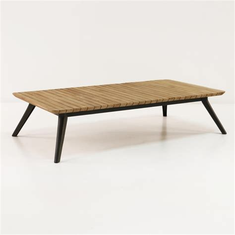 Platform Reclaimed Teak Coffee Table  Outdoor Furniture