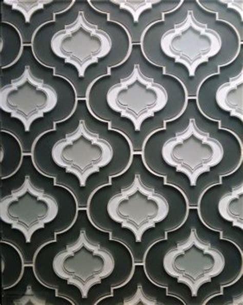 fort guest bathroom powder room smoke gray tile modern pattern designing las vegas new