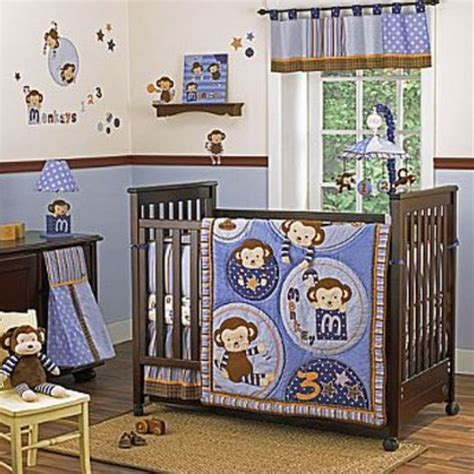 cocalo monkey mania 8 crib bedding set traditional baby bedding by hayneedle