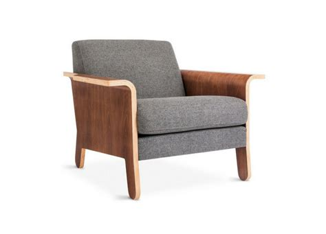 lodge lounge chair by gus modern at three chairs co michigan