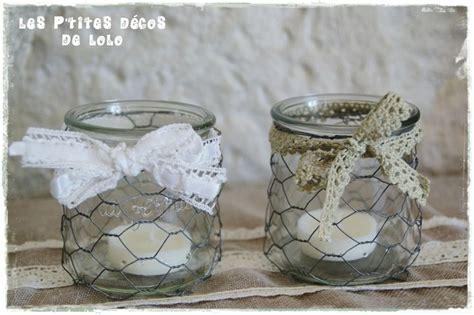 diy d 201 co r 201 cup faire des photophores style shabby chic avec des pots de yaourt en verre