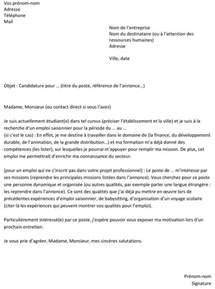 lettre de motivation pour un emploi saisonnier un exemple gratuit capital fr