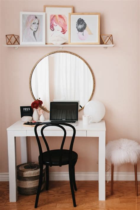Vanity And Work Desk Combo by Fiore Service Luxury Agency For