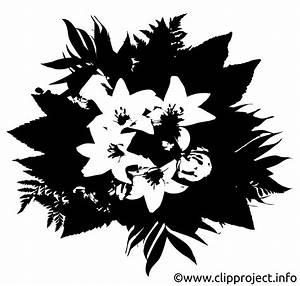 Schwarz Weiß Kontrast : blumenstrau clipart schwarz weiss ~ Markanthonyermac.com Haus und Dekorationen