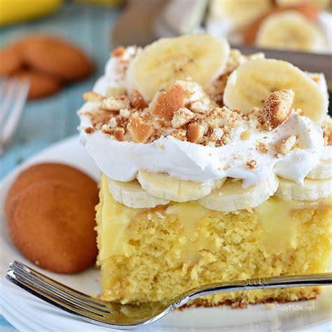 banana pudding poke cake banana pudding poke cake tidymom 174