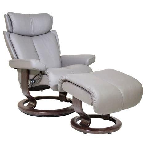 stressless by ekornes magic small stressless chair ottoman homeworld furniture reclining