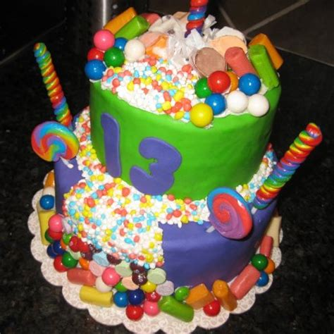 gateau d anniversaire avec bonbon facile 224 faire boutique magique