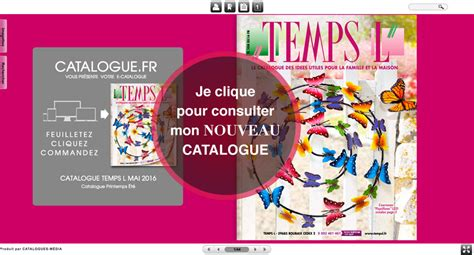 temps l nouveau catalogue mai 2016