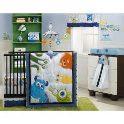 Monsters Inc Baby Bedding by Monsters Inc 4 Crib Bedding Set Line
