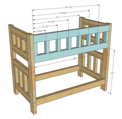 Loft Bed Woodworking Plans by Build Wooden Doll Bed Plans Bunk Bed Plans Diy