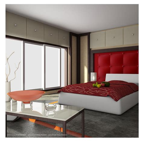 25 Red Bedroom Design Ideas Messagenote