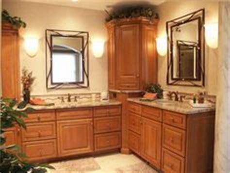vanity with corner storage decorating