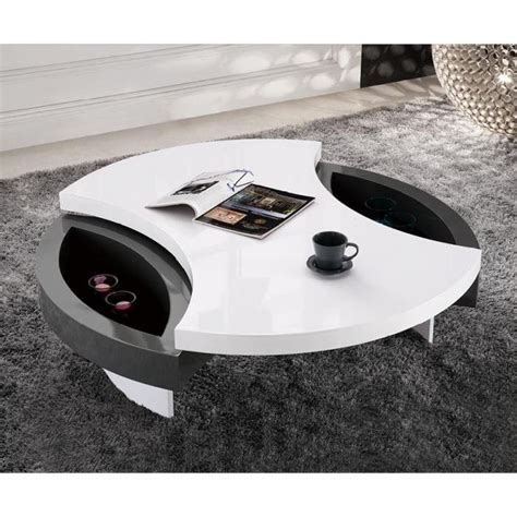 table basse design ronde priam plateau pivota achat vente table basse table basse design