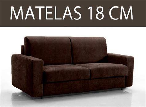 canape lit 3 places master convertible rapido 140 cm matelas 18 cm