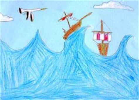 Dibujo Barco En Tormenta by Aprender A Dibujar Barcos En La Tormenta Es Hellokids
