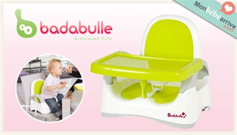 le rehausseur de table badabulle monbebearrive