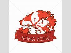 Hong kong map icon Vector Image 1594320 StockUnlimited
